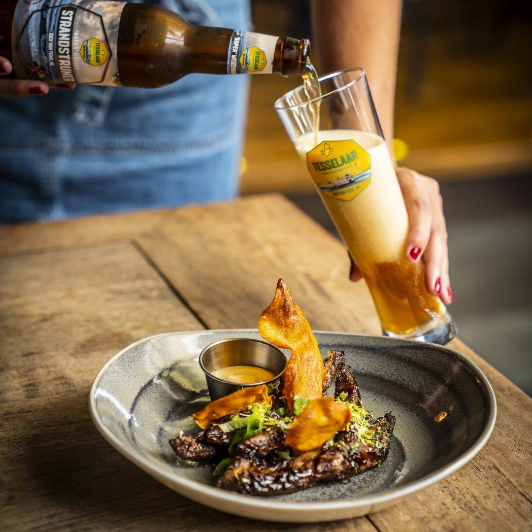 Bier Restaurant Brasserie Quintys De Koog Texel