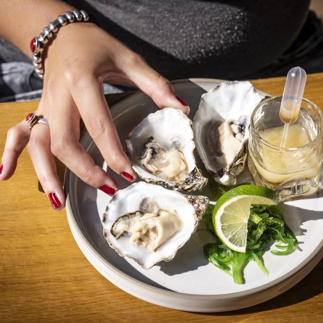 Austern Restaurant Brasserie Quinty's De Koog Texel