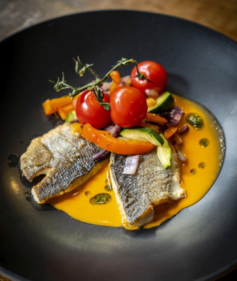 Fischgericht Restaurant Brasserie Quintys De Koog Texel
